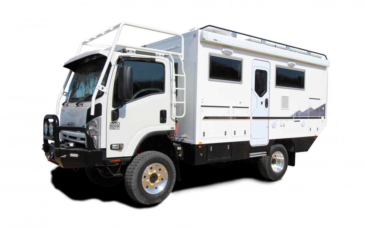 Adventurer 4x4 Luxury 4x4 Motorhome Slrv Expedition Vehicles